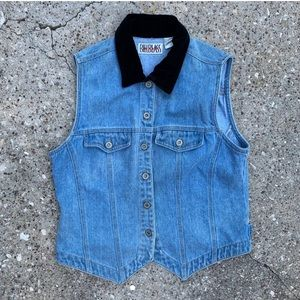 Vintage Denim BillBlass Vest